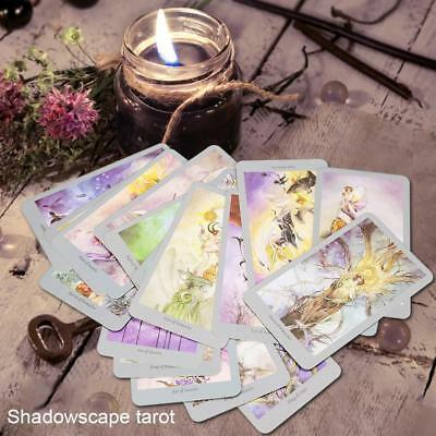 78pcs Shadowscapes Tarot Cards Quality Paper Board Game Party Paly Games