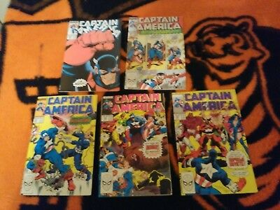 Captain America [1968] #351 Thru 400 Complete Run Lot 1989 To 1992