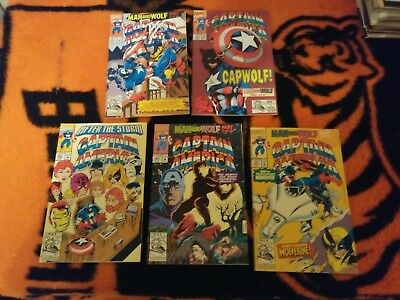 Captain America [1968] #401 Thru 454 Complete Run Lot 1992 To 1996
