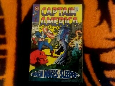 Captain America   #101 May/1968 Fn   Red Skull / 4Th Sleeper