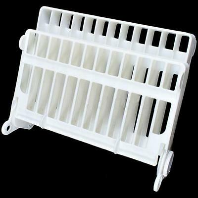 Plastic Foldable Plate Dish Drying Drainer Rack Organizer Holder Kitchen BS