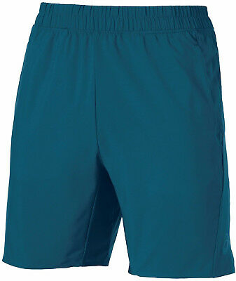 Asics Woven 9 Inch Mens Running Shorts - Blue