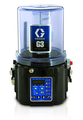 GRACO 96G025 G3 Max 90-240 VAC 2L Pump w/Everything Except Follower Plate, DIN