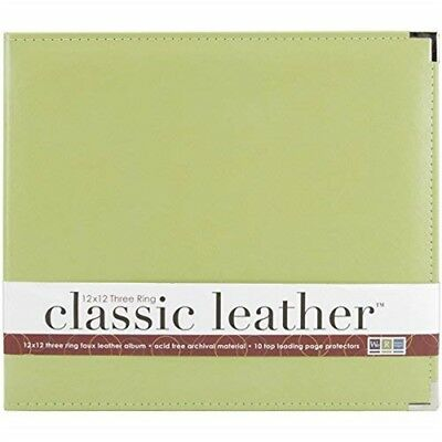 Leather 3ring Albm12 Kiwi - Dring Album Classic x Memory Keepers Faux