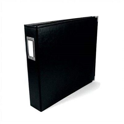 We R Memory Keepers 1-piece 8.5 x 11-inch We R Faux Leather 3-ring Binder,