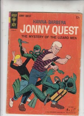 Jonny Quest # 1 Strict VG Key Number 1 & only issue in the silver-age very rare