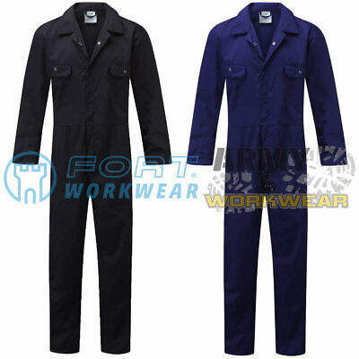 Blue Castle Mens Boilersuit Work Overall Coverall Workwear Mechanics Students