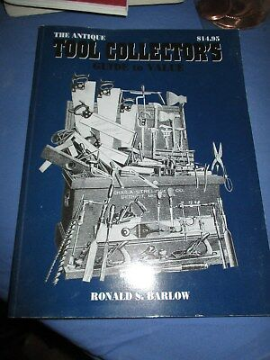 The Antique Tool Collector's Guide to Value Book VGC 1999 Illustrated Knives +