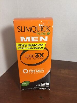 Weight Loss Supplement with Natural Ingredients Extra Strength for Men 60 Count