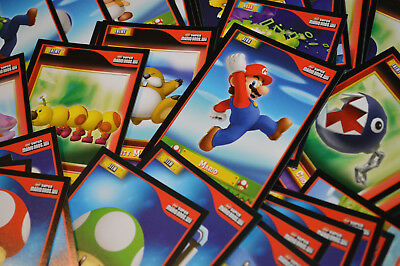 New Super Mario Bros Wii Trading Cards (Enterplay 2010) -{select your}- Base