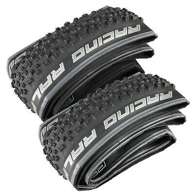 "SCHWALBE RACING RALPH Performance Mountain Bike Foldable 1 Pair Tyre 29"" x 2.1"""