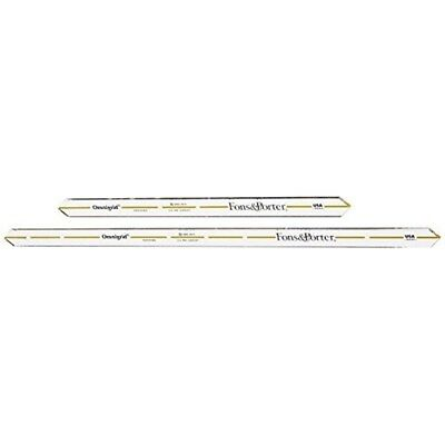Dritz Fons And Porter Quarter Inch Seam Markers, Pack Of 2 - Markers