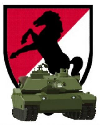 Address Labels - 11th Armored Cavalry   01