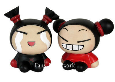 Lovey PUCCA & GARU small Coin Bank Figure Set