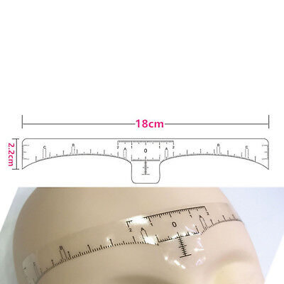 10/20/50/100 PCS Disposable Microblading Eyebrow Measure Tool Sticky Ruler