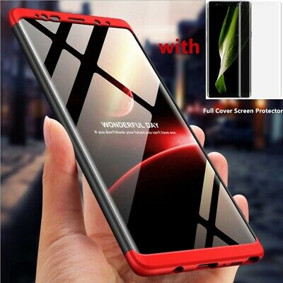 Shockproof Heavy Duty Slim Bumper Case Cover For Samsung Galaxy Note 9 S8 S10 s7