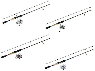 6'6 Okuma Steeler XP 2 Piece 2-4kg Fishing Rod and Reel Combo Spooled with Line