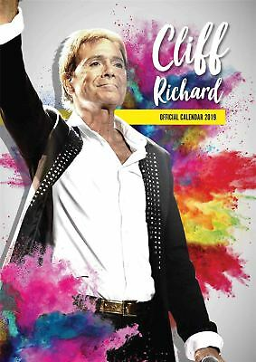 Cliff Richard Official 2019 Wall Calendar A3 New & Sealed