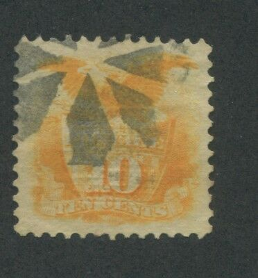 1869 US Stamp #116 10c Used Very Fine Catalogue Value