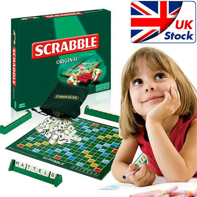 Family Original Scrabble Game Kids Adult Educational Learning Party Games Board