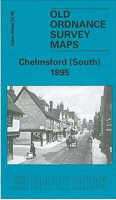 Old Ordnance Survey Map Chelmsford South 1895