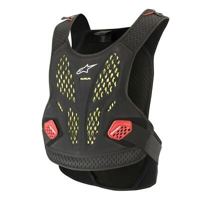 Protektorenweste Alpinestars Sequence Chest Protector anthracite/red Gr. XL/XXL