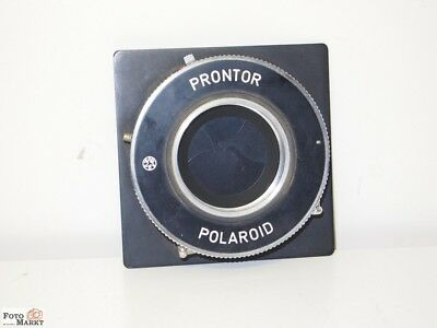 Polaroid Prontor Verschluss made in Germany (1-1/125 Sek.) f. Drahtauslöser