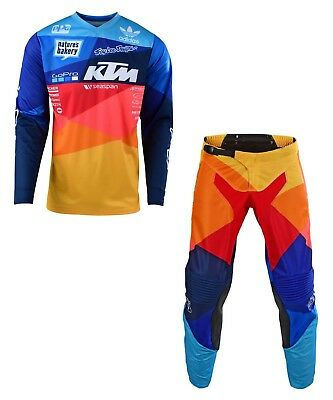 2019 Troy Lee Designs GP Air Jet Team KTM Navy Jersey & Pants Combo - All Sizes