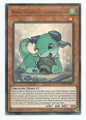 World Chalice Guardragon MP18-EN047 Ultra Rare Yu-Gi-Oh Card 1st Edition New