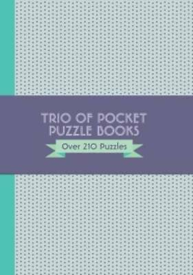 Trio of Pocket Puzzles - Crossword, Sudoku and W, Parragon, New