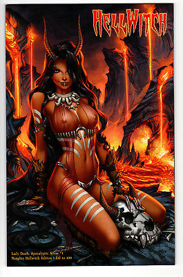 Lady Death Apocalyptic Abyss #1 Naughty Hellwitch Ltd 400 Sabine Rich Variant