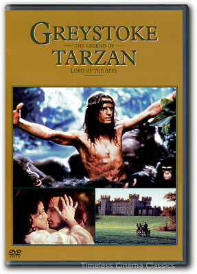 Greystoke: The Legend of Tarzan, Lord of the Apes DVD New Christopher Lambert