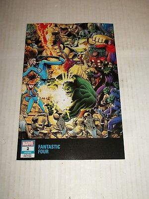 Marvel FANTASTIC FOUR #2 Art Adams Connecting Wraparound Variant NM/M