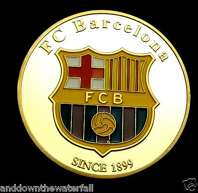 Lionel Messi FC Barcelona World Cup 2018 Gold Coin Argentina Autograph Russia UK