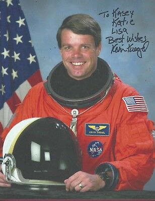 "Kevin Kregel, NASA Astronaut, Signed 8 1/2"" x 11"" Color Photo, COA, UACC RD 036"