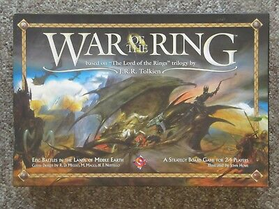 2004 War Of The Ring RPG Strategy Game. COMPLETE.  Lord of the Rings.