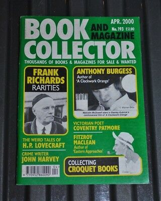 Book Collector # 193 April 2000 - Anthony Burgess, H.P Lovecraft, John Harvey