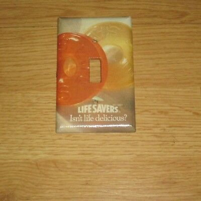 LIFESAVERS Life Savers Candy LIGHT SWITCH COVER PLATE A