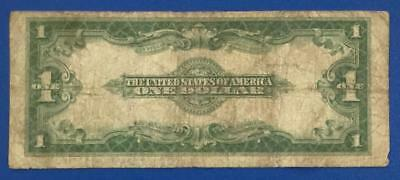 """1923 $1 Blue """"LARGE SIZE"""" SILVER Certificate """" HORSEBLANKET"""" X525 VG! Currency"""