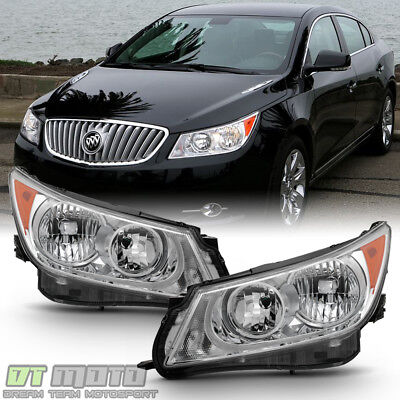 [Factory Style] Headlamps For 2010-2013 Buick LaCrosse Halogen Model Headlights