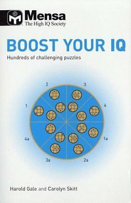 Mensa B Boost Your Iq 66 Books, Not Known, New