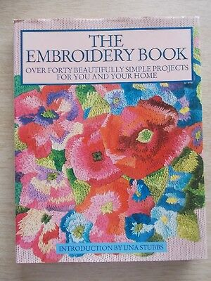 The Embroidery Book~40+ Projects~191pp HBWC~1989