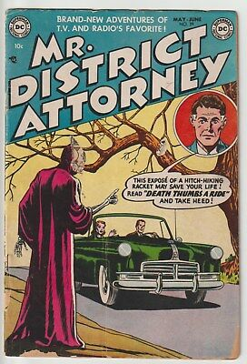 Mr. District Attorney #39,horror Type Cover,pre Code,dc Golden Age!