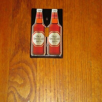 Vintage Style OLD SPECKLED HEN CRAFTED FINE ALE BEER Light Switch Cover Plate