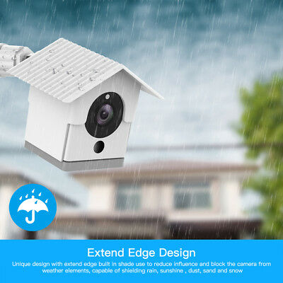 Weather Protective Housing Cover Case 360° Wyze Camera Wall Mount Bracket White