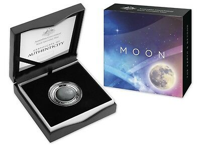 2019 Australian Earth and Beyond - $5 Coloured Fine Silver Proof Domed Coin