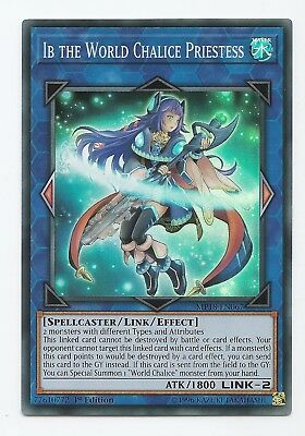 Ib the World Chalice Priestess MP18-EN067 Super Rare Yu-Gi-Oh Card 1st Edition