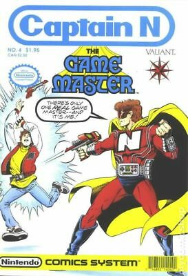 Captain N the Game Master #4 1990 FN- 5.5 Stock Image Low Grade