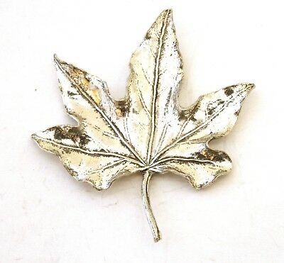 Hat or Lapel Pewter Brooch Gift Present 121 Leaf Fairy Pin Badge Tie