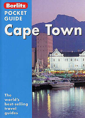 , Cape Town Berlitz Pocket Guide (Berlitz Pocket Guides), Paperback, Very Good B